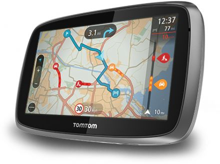 New TomTom Go 500 Europe (45 Countries) With Lifetime Traffic and Lifetime Maps